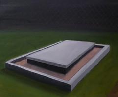 senza titolo 50x6' olio su tela 2012