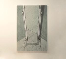 still life olio e acrilico su tela 100x150 cm 2012