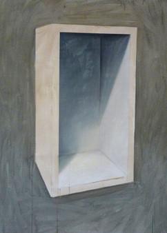 natura morta acilico e olio su lino 100x130 cm 2012