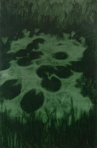 Linda Carrara - lo stagno - acrilico su
