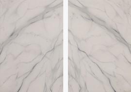 false Carrara marble, oil on linen 45x50 each 2014