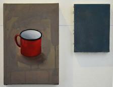 natura morta, olio e acrilico su tela 20x30 cm 2011