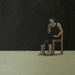 26 luglio 2010 olio e acrilico su tela . 20x20 cm collezione privata