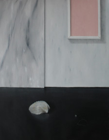 piero della francesca aspirava alla santità, oil and acrylic on line 2016