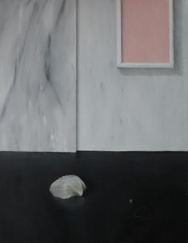 piero della francesca aspirava alla santità, oil and acrylic on line 2016