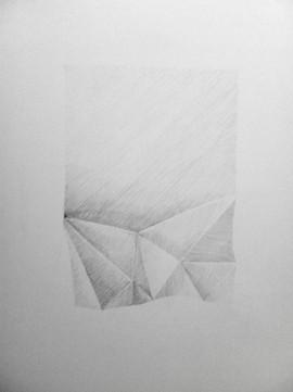 no title, graphite on paper 65x50cm 2016