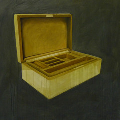 le gioie acrilico e olio su lino 150x150 cm 2011