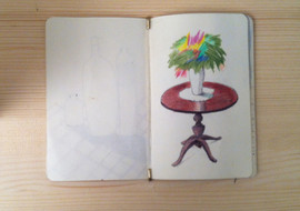 no title . sketchbook  Bruxelles 2014