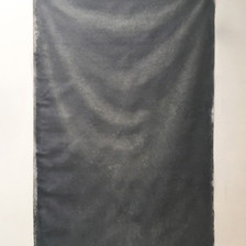 panneggio. oil on linen. 160x95 cm 2019