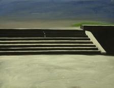 senza titolo, olio su lino 50x60, 2011
