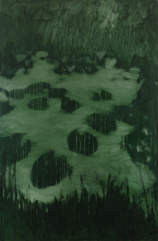 Linda Carrara - lo stagno --2-- acrilico