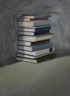 senza titolo, olio e acrilico su tela, 50x70 cm 2012