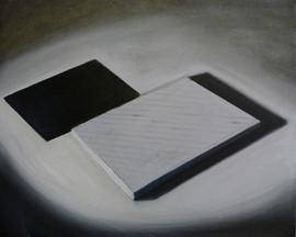 senza titolo . olio e acrilico su tela  40x50cm 2013