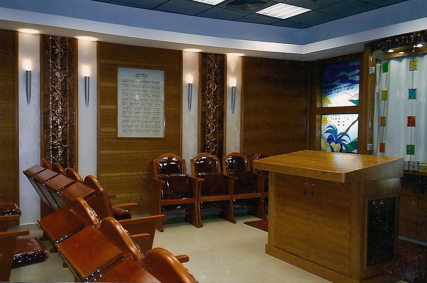 """עיצוב ואמנות בבית הכנסת בנתב""""ג"""