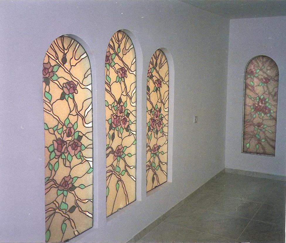 ויטראז'ים קלסיים בנושא פרחים