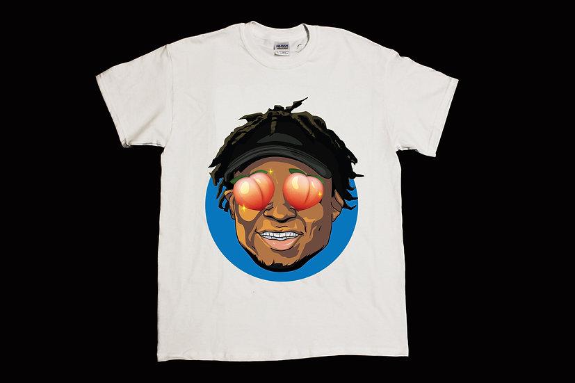 Quron Peach Eyes Shirt (White)