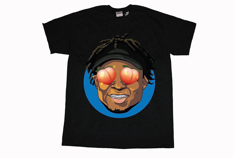 Quron Peach Eyes Shirt (Black)