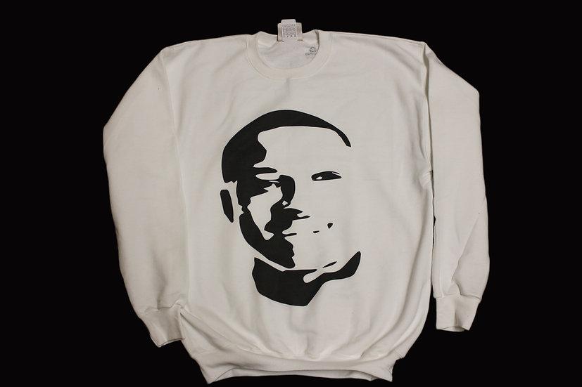 Quron Payne White Crew Neck Sweatshirt
