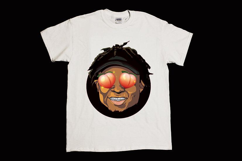 Quron Peach Eyes Shirt (White)#2