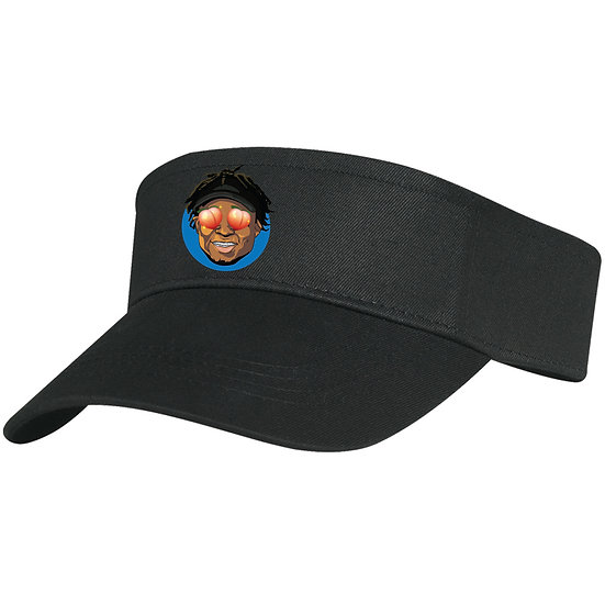 Quron Peach Eyes Visor (Black)