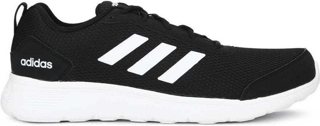 ADIDAS DROGO M SS 19 Running Shoes For Men (White, Black)