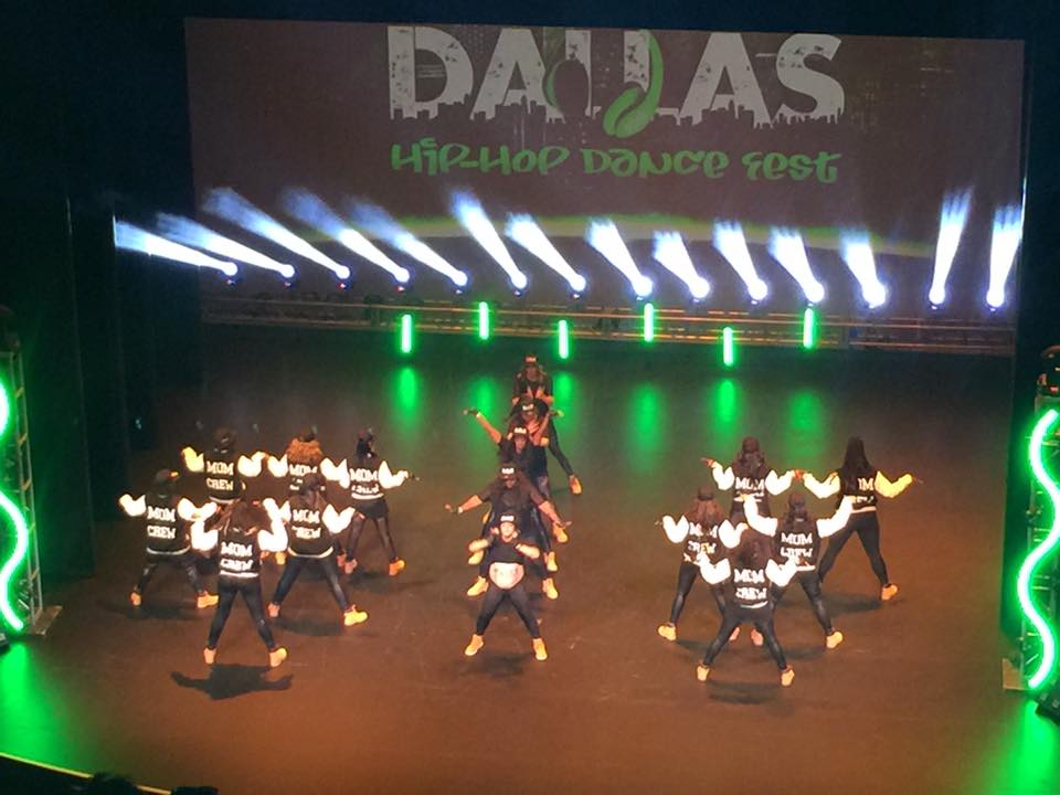 MOM Crew Dallas Hip Hop Dance Fest
