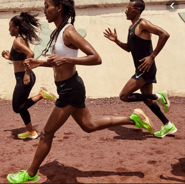 Nike Running: Meet the Dibabas interviews and editorial
