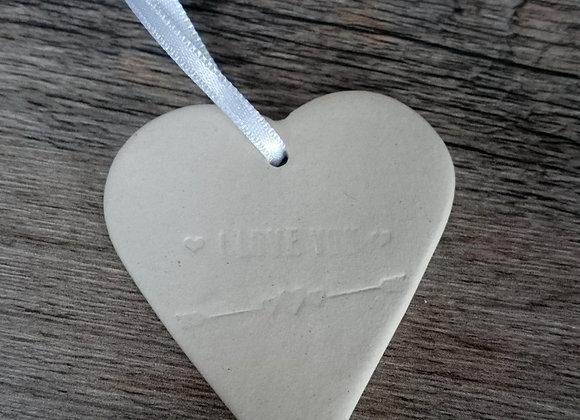 Coeur porcelaine