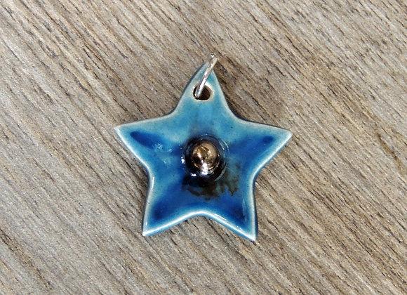 Médaillon céramique étoile