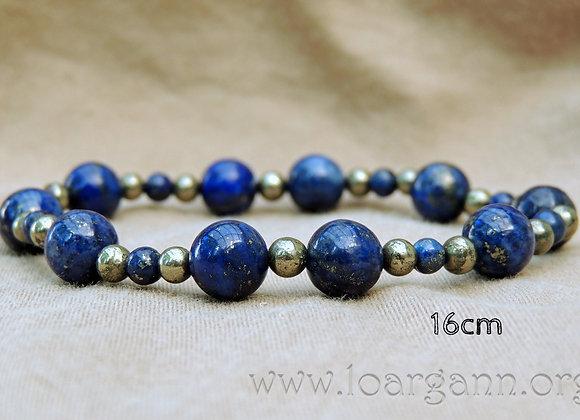 Bracelets Lapis Lazuli & Pyrite