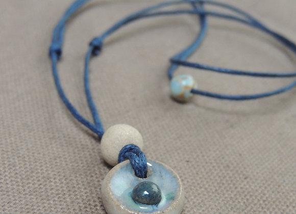 Colliers pendentif céramique