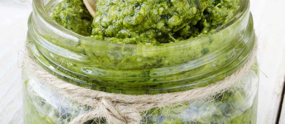 Recette : Pesto au chanvre