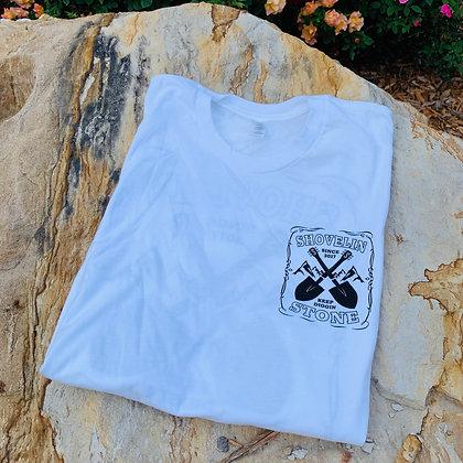 White Keep Diggin' T-shirt