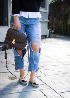 ripped jeans fashion