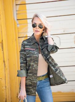 camo fashion model