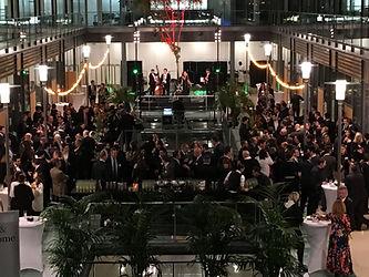 Soirée de fin d'année 250 personnes en cocktail dinatoire