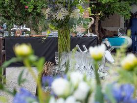 Buffet de mariage au Domaine de Quincampoix