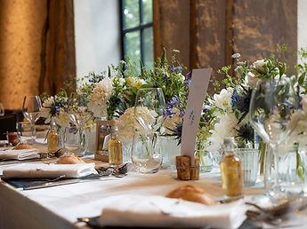 Table de mariage au Domaine de Quincampoix