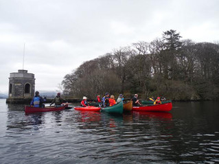 Windermere Family Paddle 14 March 2015