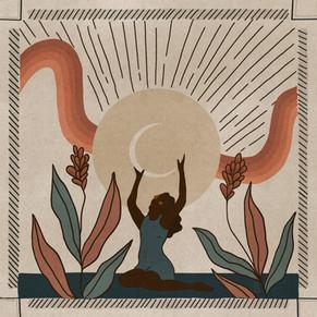 Cosmic Rituals - Drawtober 2020