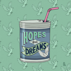 Hopes and Dreams Lettering