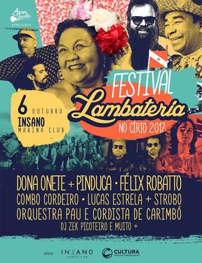 Festival Lambateria promete movimentar a programação de Belém durante o Círio
