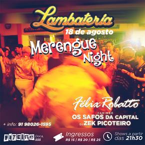 Lambateria#10 promove Merengue Night
