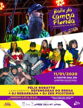 Lambateria dá seu grito de Carnaval com o Baile da Camisa Florida
