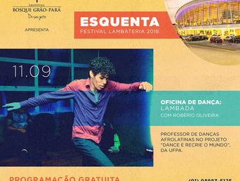 Festival Lambateria ganha programação especial e gratuita no Shopping Bosque Grão-Pará
