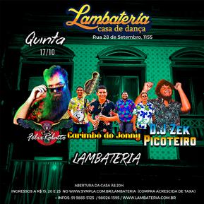 Lambateria completa 153 edições com atrações residentes de volta à programação