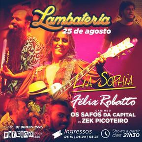 Lambateria#11 recebe Lia Sophia