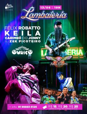 Carimbó, Tecnobrega e Lambada animam a 146ª edição da Lambateria