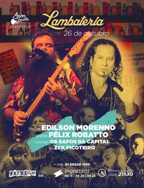 Edilson Moreno estreia na Lambateria