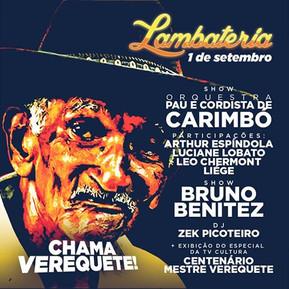 Lambateria#12 Chama Verequete